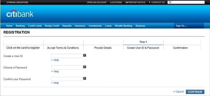 Citibank Account Online >> Citibank Singapore - FAQ