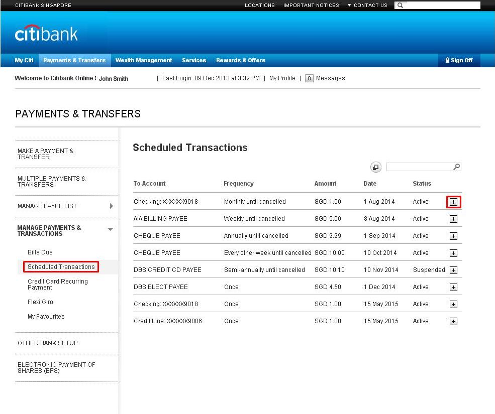 Citibank Account Online >> Online Banking Services Citibank Singapore