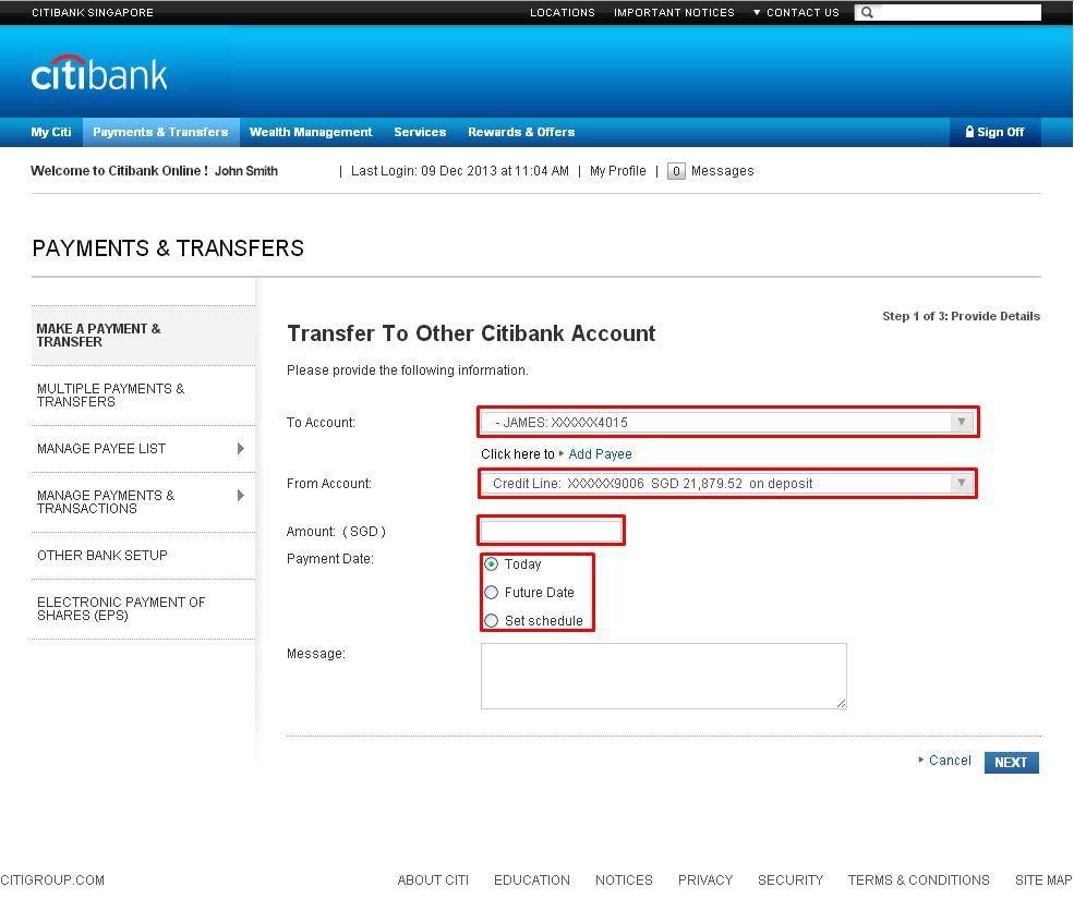 citibank open account online