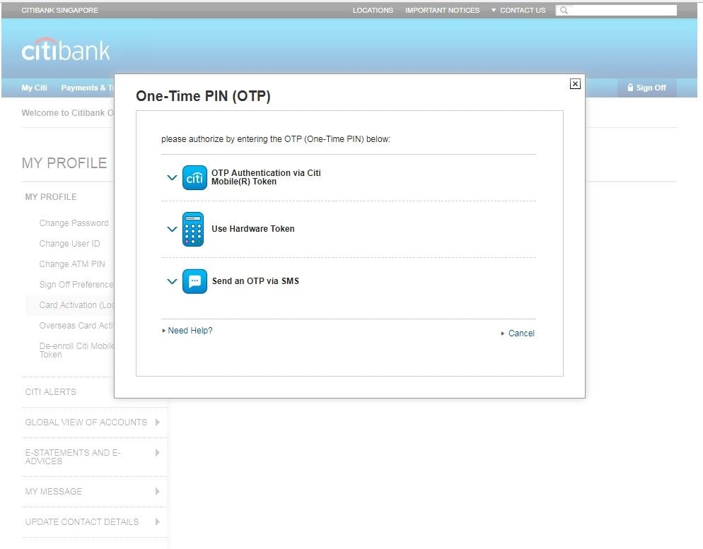 Citibank Online: Steps to Update Your Email, Phone and