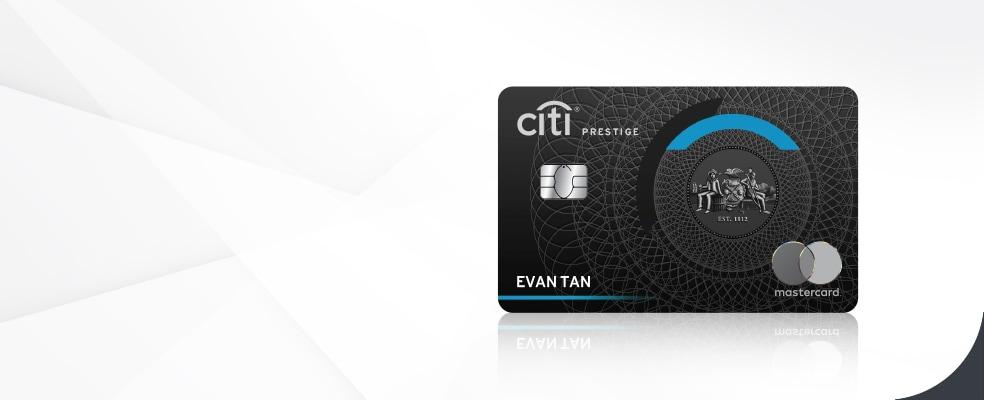 Citi Prestige Mastercard Travel Services